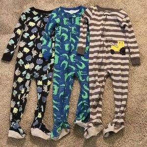 Carters toddler footed pajamas